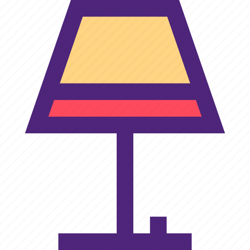 appliance, devices, furniture, gadgets, goods, lamp, table icon