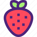 adventure, casino, entertainment, fun, games, play, strawberry icon
