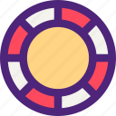 adventure, casino, entertainment, fun, games, play, tips icon