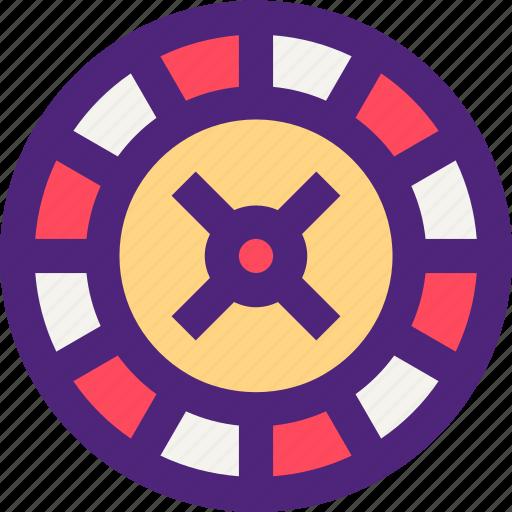adventure, entertainment, fun, games, play, roulette, wheel icon