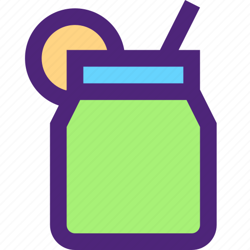 diet, energy, fitness, health, silhouette, smoothie icon