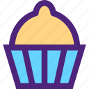 anniversary, celebration, ceremony, christmas, cupcake, feast, holidays icon