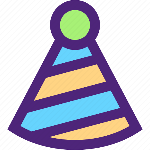 anniversary, celebration, ceremony, feast, hat, holidays, party icon