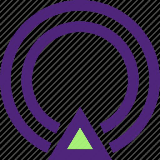 app, communication, gps, interaction, interface, signal, web icon