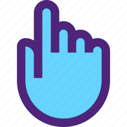 app, communication, hand, interaction, interface, touch, web icon
