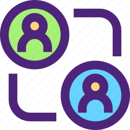 app, communication, data, interaction, interface, user, web icon