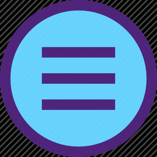 app, communication, interaction, interface, menu, more, order, web icon