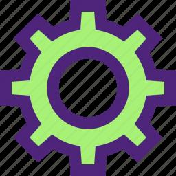 app, communication, gear, interaction, interface, settings, web icon