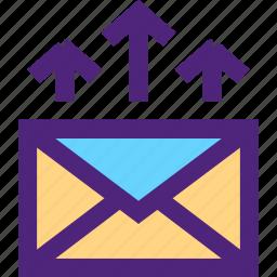 business, commerce, economics, email, marketing, promotion, retail icon