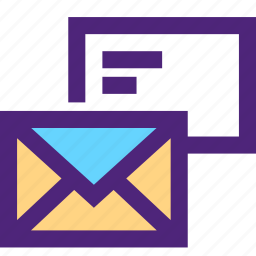 business, commerce, economics, mails, marketing, retail icon