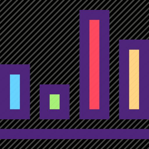 business, commerce, economics, growth, marketing, retail, stats icon