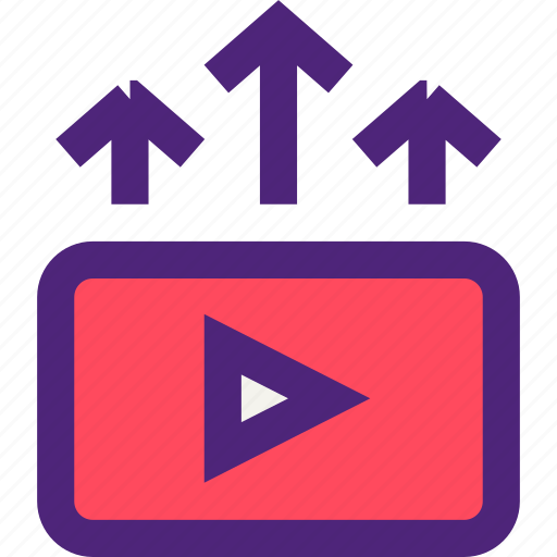 business, commerce, economics, marketing, promotion, retail, video icon