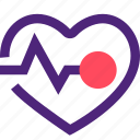 doctor, heal, health, heart, hospital, medical, rate icon