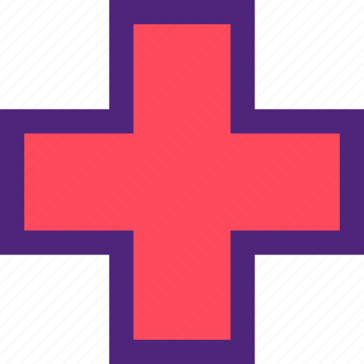 cross, doctor, heal, health, hospital, medical icon