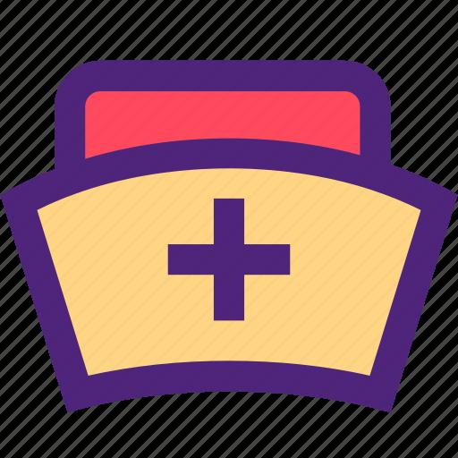 doctor, hat, heal, health, hospital, medical, nurse icon