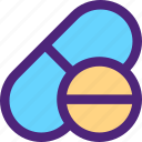 doctor, heal, health, hospital, medical, pills icon