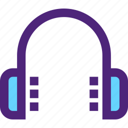 headphones, melody, music, song, sound, tune icon