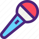 melody, microphone, music, song, sound, tune icon