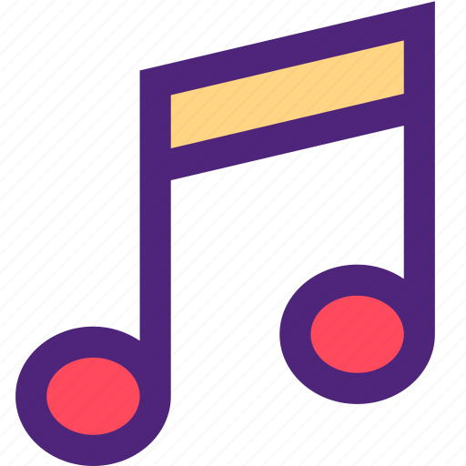 melody, music, note, song, sound, tune icon
