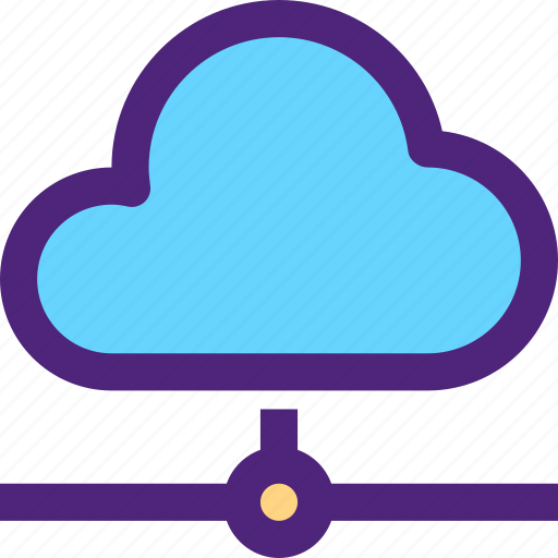 cloud, net, network, structure, system, web icon
