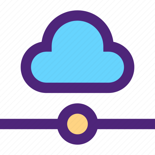 cloud, connection, net, network, structure, system, web icon