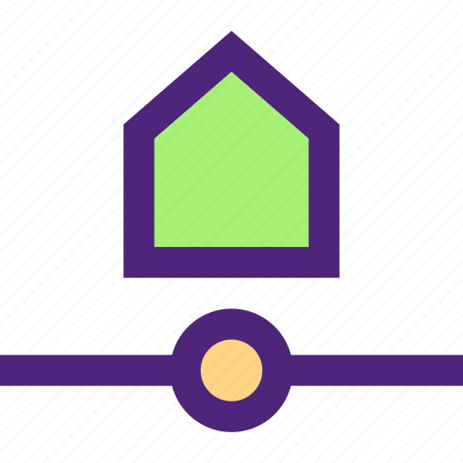connection, home, net, network, structure, system, web icon