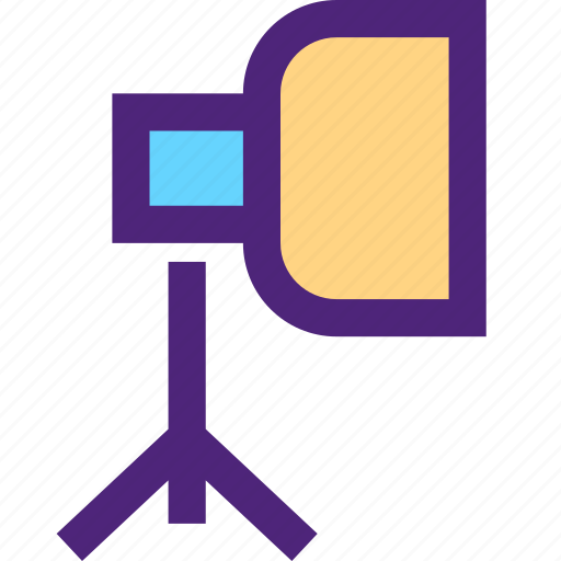 art, design, graphic, paint, photography, softbox icon