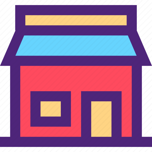 assets, capital, estate, property, shop, store, wealth icon