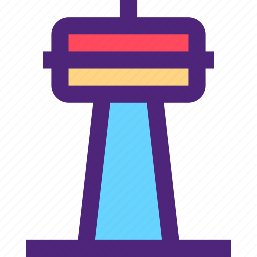assets, capital, estate, property, signal, tower, tv, wealth icon