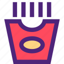 bar, diner, french, fries, lounge, restaurant, tavern icon