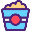 bar, diner, lounge, popcorn, restaurant, tavern icon