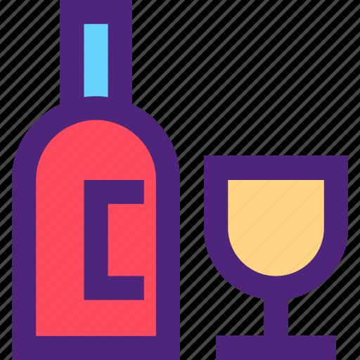 bar, bottle, diner, lounge, restaurant, tavern, wine icon