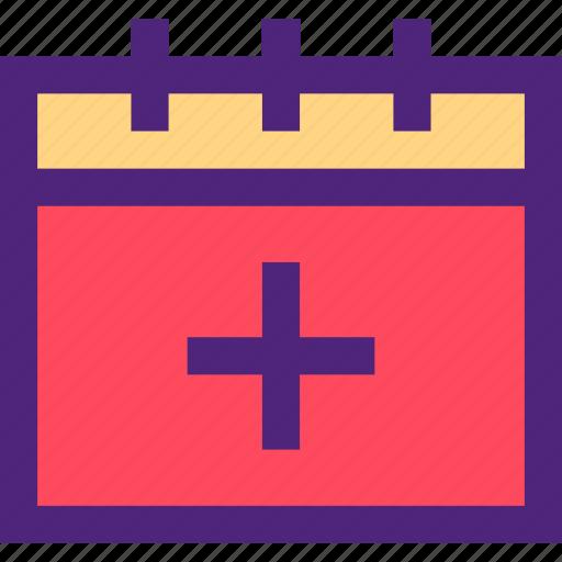 add, agenda, calendar, diary, plan, program, schedule icon
