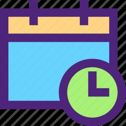 agenda, calendar, diary, plan, program, schedule, time icon