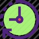 agenda, clock, diary, plan, program, schedule, time icon