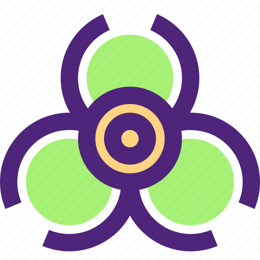art, caution, education, learning, science, toxic, wisdom icon
