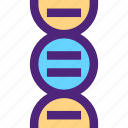 art, dna, education, learning, science, wisdom icon