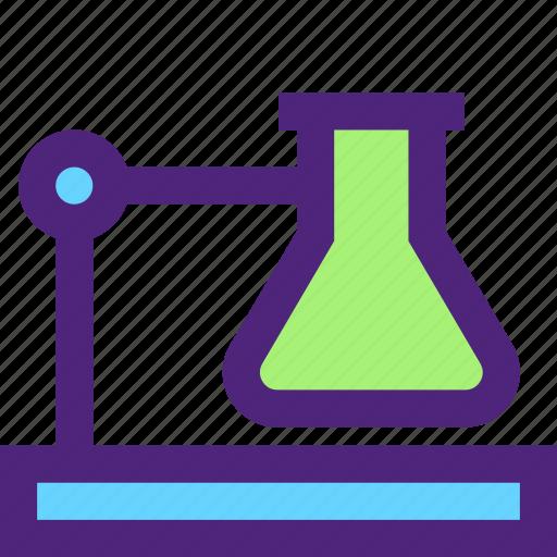 art, education, experiment, learning, liquid, science, wisdom icon