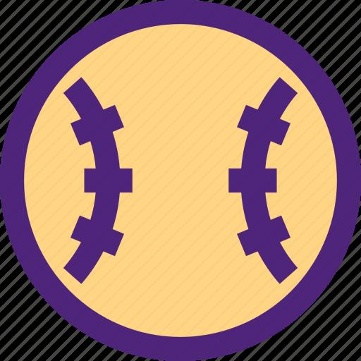 action, athletics, ball, baseball, game, recreation, sports icon