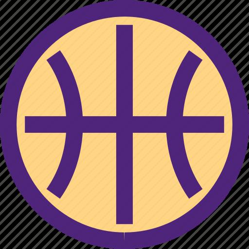 action, athletics, ball, basketball, game, recreation, sports icon