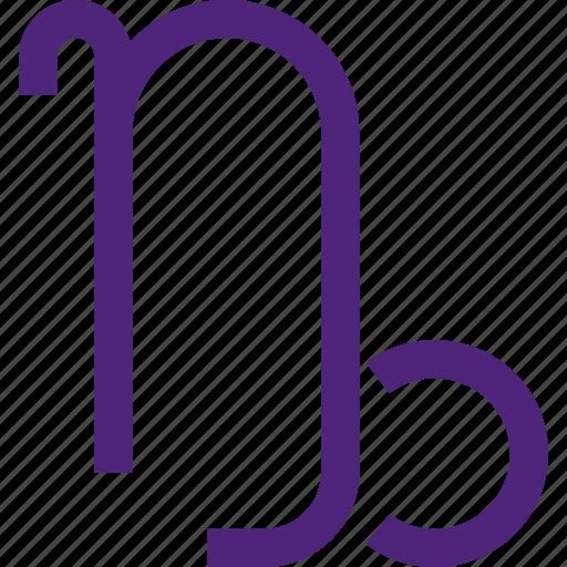 astrology, badge, capricorn, emblem, figure, mark, symbols icon