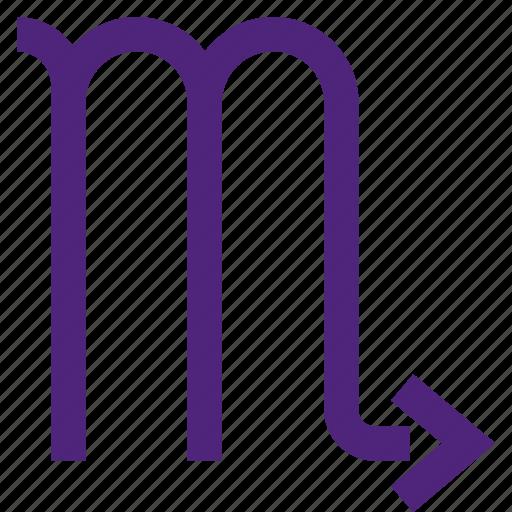 astrology, badge, emblem, figure, mark, scorpio, symbols icon