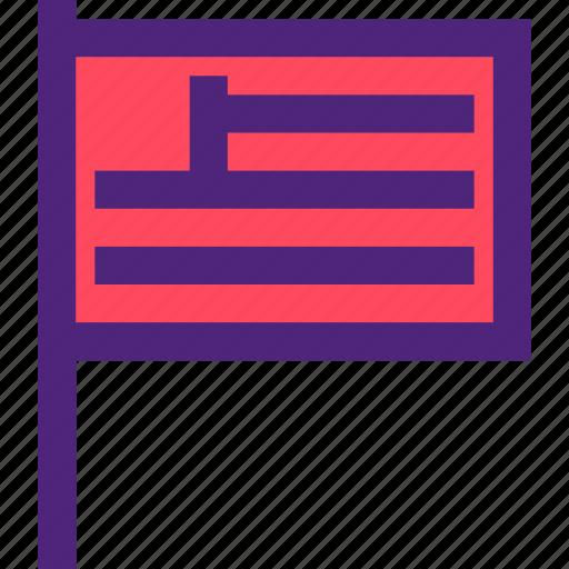 badge, emblem, figure, flag, mark, symbols, usa icon