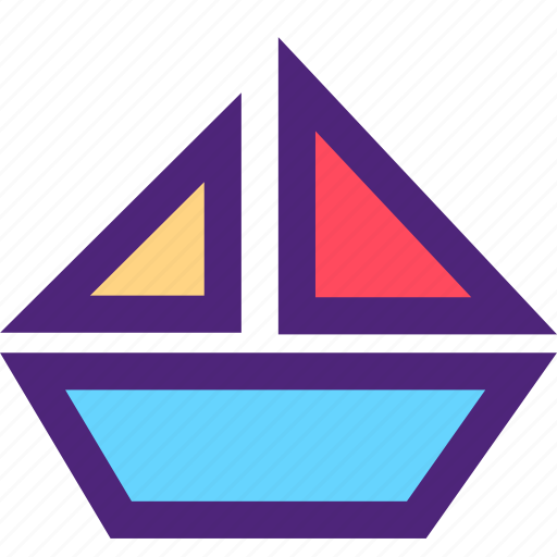 boat, carrier, freight, shipping, transit, transport icon