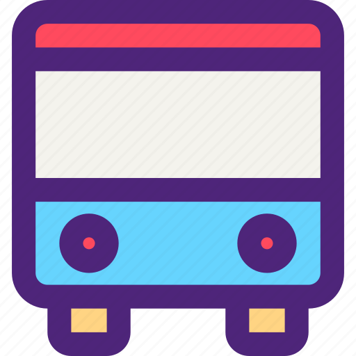 bus, carrier, freight, shipping, transit, transport icon