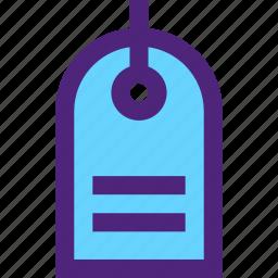 expedition, luggage, tag, tour, travel, trip, voyage icon