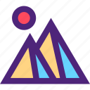expedition, giza, pyramids, tour, travel, trip, voyage icon
