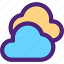 climate, clime, clouds, earth, nature, weather icon