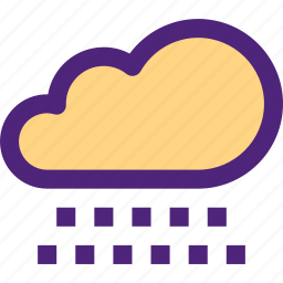 climate, clime, cloudy, earth, nature, rain, weather icon