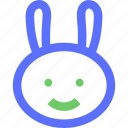 animals, beast, bunny, earth, nature, rabbit, wild icon